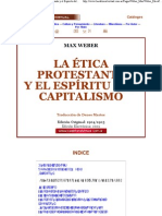 1La Editorial Virtual - Max Weber_ Le Ética Protestante y el Espíritu del Capitalismo