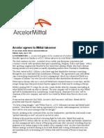 ArcelorMittalMerger