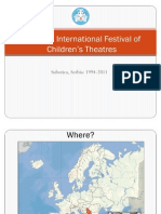 Subotica International Festival of Children's Theatres 1994-2011 Presentation