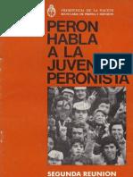 Peron habla a la juventud peronista 2