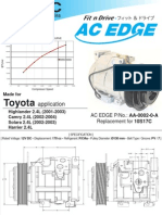 AC EDGE Compressor Catalogue