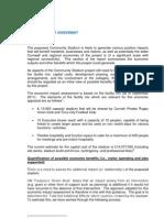 Appendix H - Economic Impact Assessment