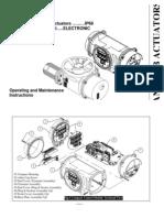 Antrieb Actuators O & M Catalogue
