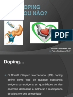 Doping-Fisiologia Do Exercicio I