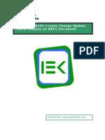 BPP CIN J1IA101 Create Change Update Cancel Display an ARE1 Document