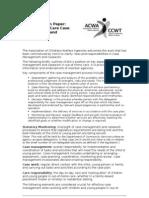 Case Management Case Work