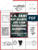 US Army Map Reading and Land Navigation Handbook