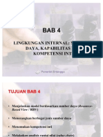 BAB 4 Lingkungan Internal an