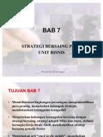 BAB 7 Strategi Bersaing Pada Unit Bisnis