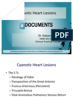 Cyanotic Heart Lesions