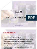 BAB 10 Strategi Aliansi Strategic