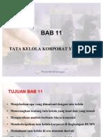 BAB 11 Tata Kelola Korporat Yang Baik