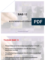 BAB 13 Kepemimpinan Strategic