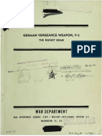 German Vengeance Weapon v 2