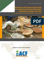 ACF 2011 Optimización del Impacto Nutricional de las Intervenciones FSL