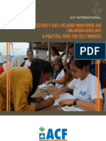 ACF FSL Monitoring and Evaluation Programme Guidelines 2011