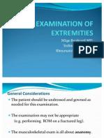 50-19.10examination of Extremities