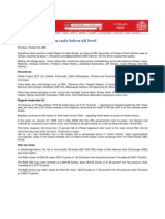 India Today_Oct 24, 2008_Black Friday - Sensex Ends Below 9K Level