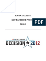NBC News guide to Iowa and N.H. nominating contests
