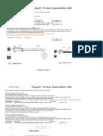 Cables y Placas E1 Huawei M1000