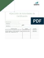P-03 - Ejecución de Actividades deCertificación