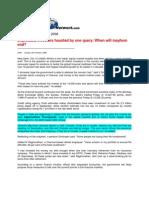 Big News_Oct 13, 2008_When Will Mayhem End, Think Investors