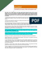 Blog Coverage_Nandigram United_Oct 13, 2008_When Will Mayhem End, Think Investors