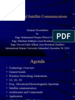 Seminar on Satellite Communications and VSAT 30-12-2010