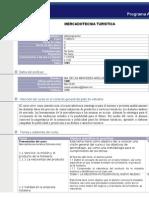 Syllabus MercTuristicaTU95072