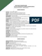 Terminologia Medico Odontologica