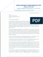 Carta a Gregorio Santos