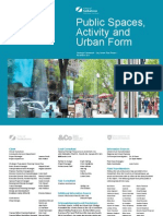 Public Spaces Activity and Urban Form