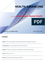 Mental Health Financing 21 12 11 Aro