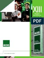 Calendario Cursos ACHS 2009