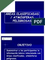 Areas Clasificadas(1)