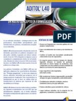 A4_Aditol L-40-Brochure técnico