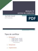 Módulo IV - GESTÃO DE CONFLITOSx