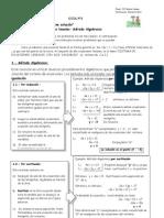 Sistema de ecuaciones Guía N°1