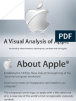 Apple Visual Analysis (Presentation for PR Visual Communcations,_University of Florida, Spring 2009)