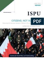 640 ISPU Report Bahrain Aziz Musalem WEB