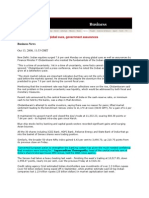 MonsterandCritics_Oct 13, 2008_Indian Markets Soar on Global Cues, Government Assurances