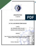 DISEÑO ARQUITECTÓNICO DE LOCALES COMERCIALES, FARMACIA, CONSULTORIOS Y LABORATORIO CLÍNICO