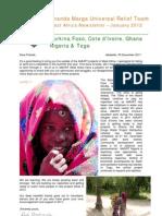 AMURT West Africa Newsletter December 2011
