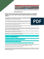 NewKerala_Sept 30, 2008_Markets End in Green Despite Grim Global Cues