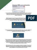 Cómo desbloquear PDFs con contraseñas