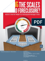 Tipping the Scales Toward Foreclosure