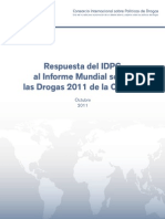 IDPC Response to UNODC World Drug Report SPA