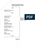 0001 2010 09-24 DOJ's Complaint (U.S. v. Adobe)