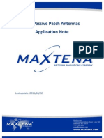 GPS Patch Antennas