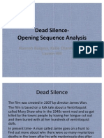 Dead Silence-Opening Sequence Analysis